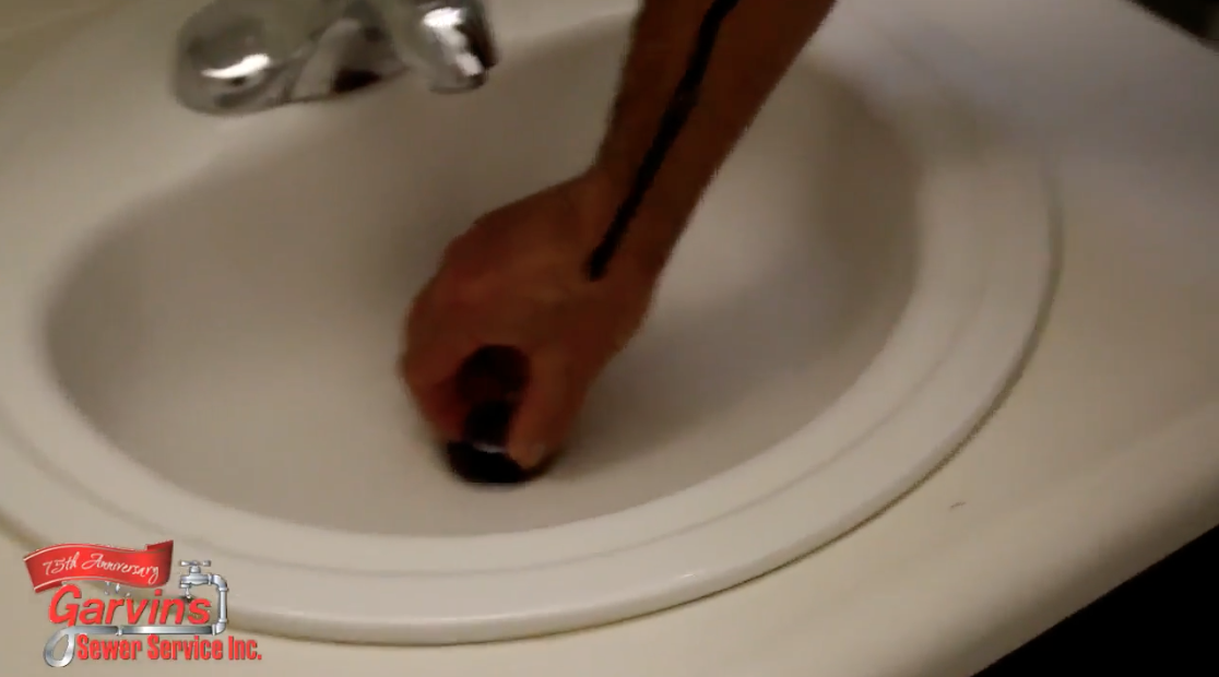 Garvin's How-to Plumbing Videos: How to unclog a slow draining bathroom sink